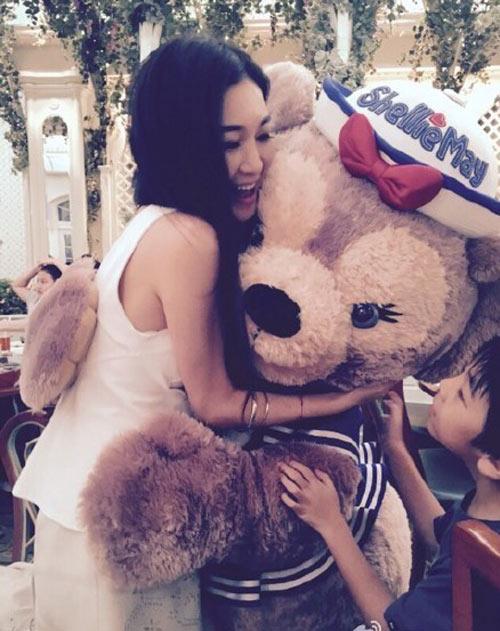 Kiều nữ TVB sống xa hoa khi làm vợ bé tỷ phú-10