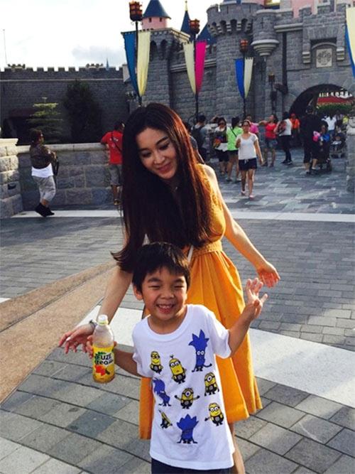 Kiều nữ TVB sống xa hoa khi làm vợ bé tỷ phú-6