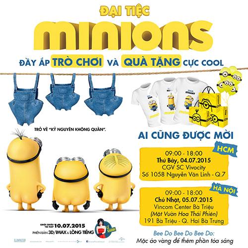 """doan lam phim """"minions"""" lan dau chia se chuyen hau truong - 9"""