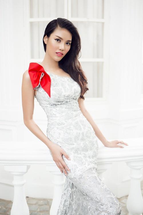lan khue khoe duong cong sexy voi vay da hoi cau ky - 10