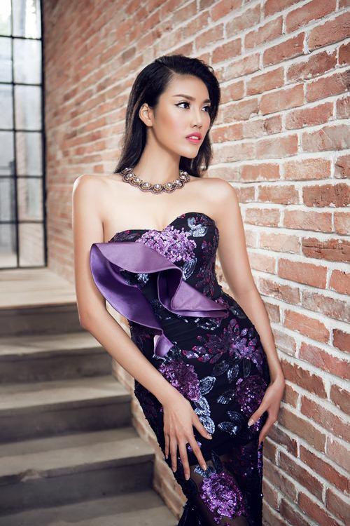 lan khue khoe duong cong sexy voi vay da hoi cau ky - 8