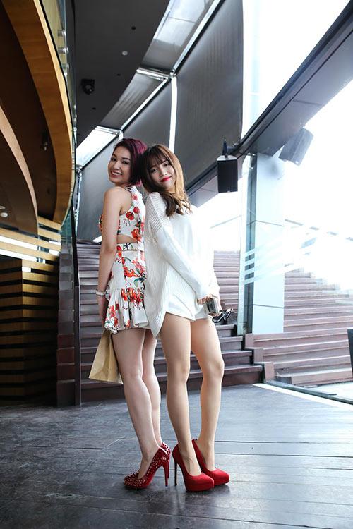 """si thanh """"do"""" chan dai ben quynh chi - 5"""