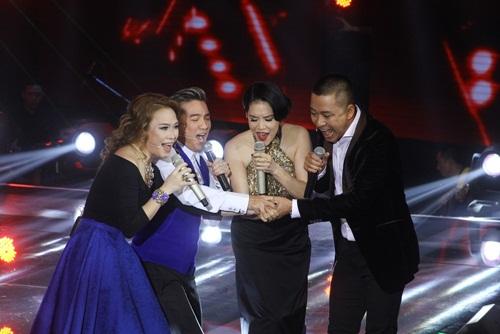 the voice 2015: thu phuong, tuan hung but rut khi phai loai hoc tro - 2