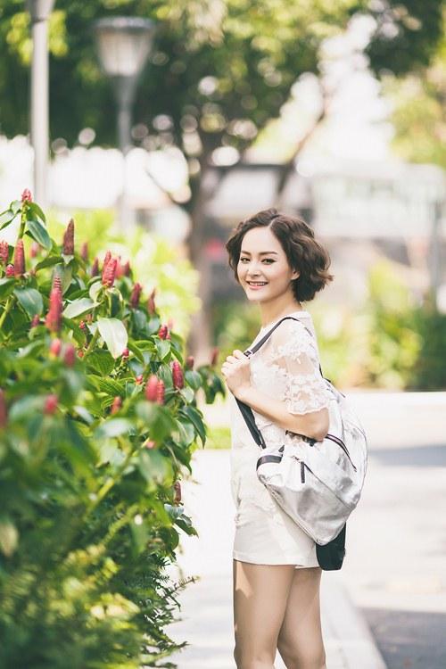 lan phuong khoe ve tre trung, tuoi tan o tuoi 32 - 1