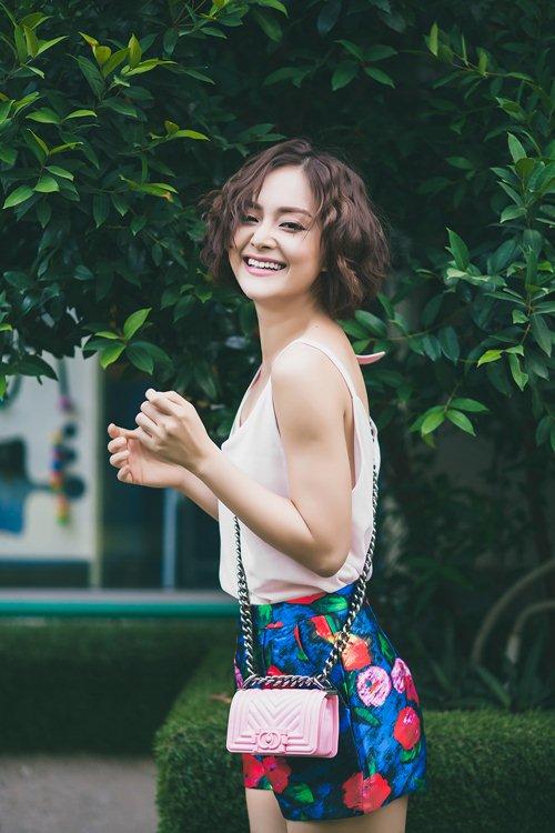 lan phuong khoe ve tre trung, tuoi tan o tuoi 32 - 10