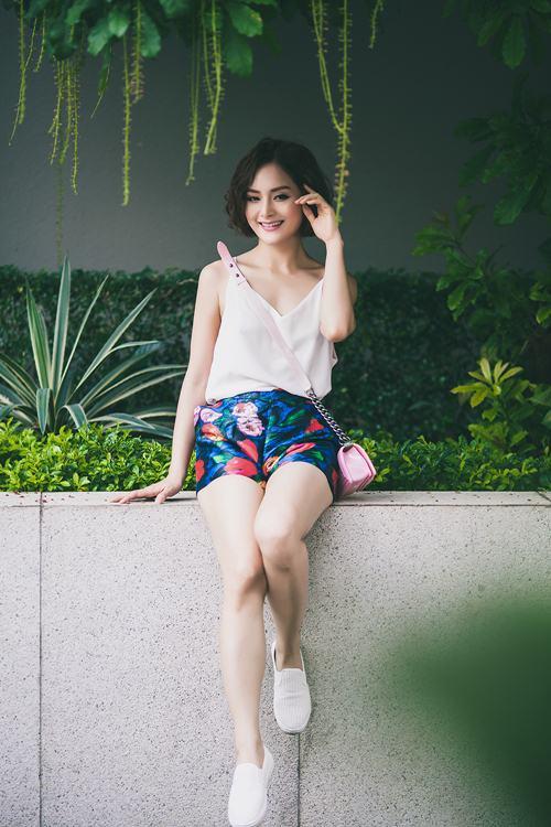 lan phuong khoe ve tre trung, tuoi tan o tuoi 32 - 6