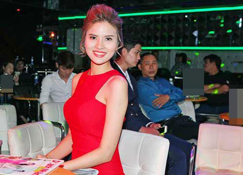 le thi phuong do ruc den chuc mung nguyen lam - 3