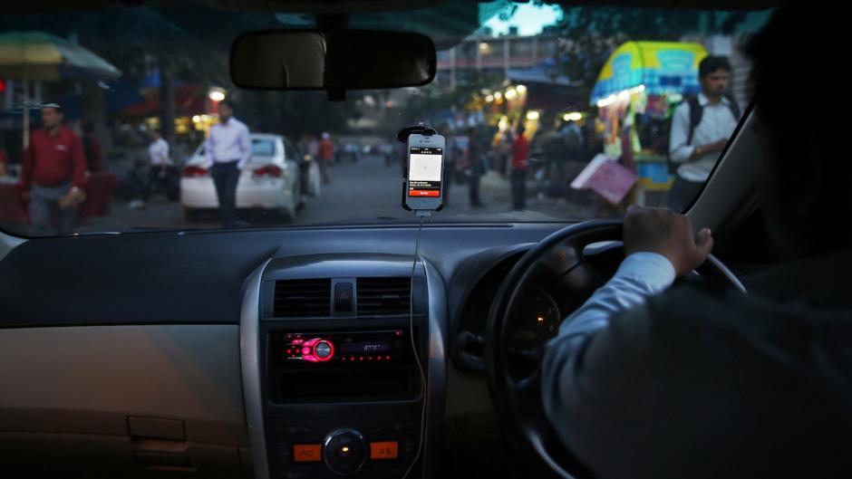 """an do: bat tai xe uber """"tu suong"""" khi cho khach nu - 1"""