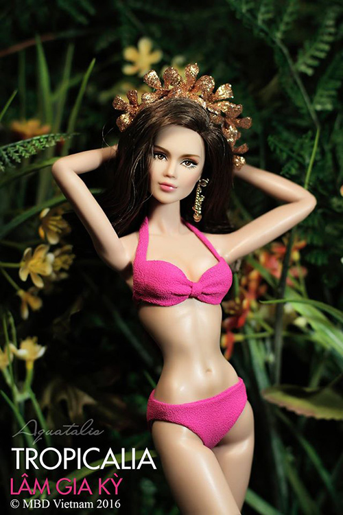 bup be mac bikini  ruc ro thi hoa hau - 2