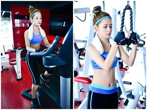 chi pu: hot girl cham tap luyen giu dang nhat nhi vbiz - 4