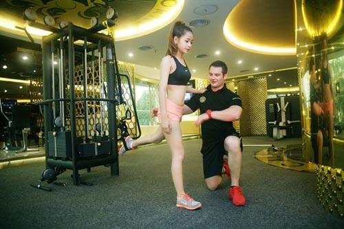 chi pu: hot girl cham tap luyen giu dang nhat nhi vbiz - 8
