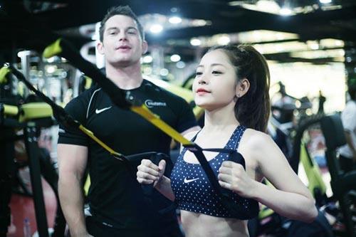 chi pu: hot girl cham tap luyen giu dang nhat nhi vbiz - 2