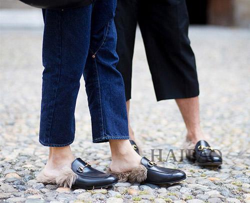 """Tín đồ thích thú với mốt giày """"chổi lau nhà""""-2"""