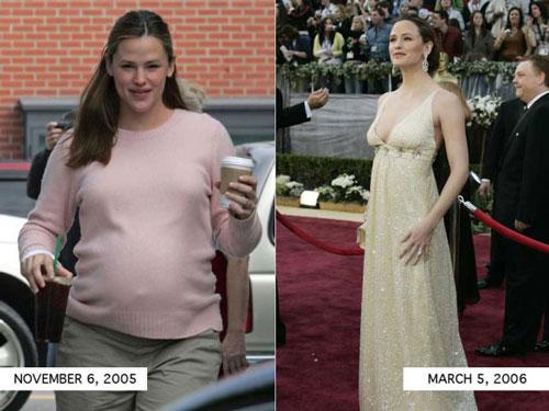 Bí quyết giảm cân ngoạn mục của 8 bà mẹ Hollywood - 1