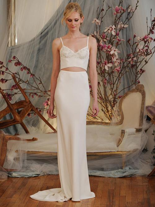 Kiểu váy cưới thú vị mọi cô dâu nên thử năm 2015 - 12