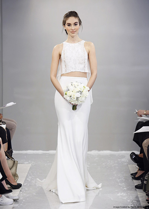 Kiểu váy cưới thú vị mọi cô dâu nên thử năm 2015 - 14