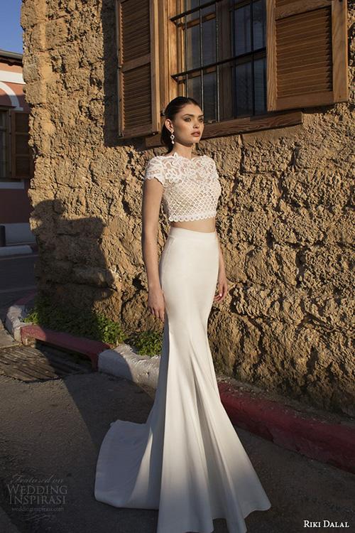 Kiểu váy cưới thú vị mọi cô dâu nên thử năm 2015 - 7