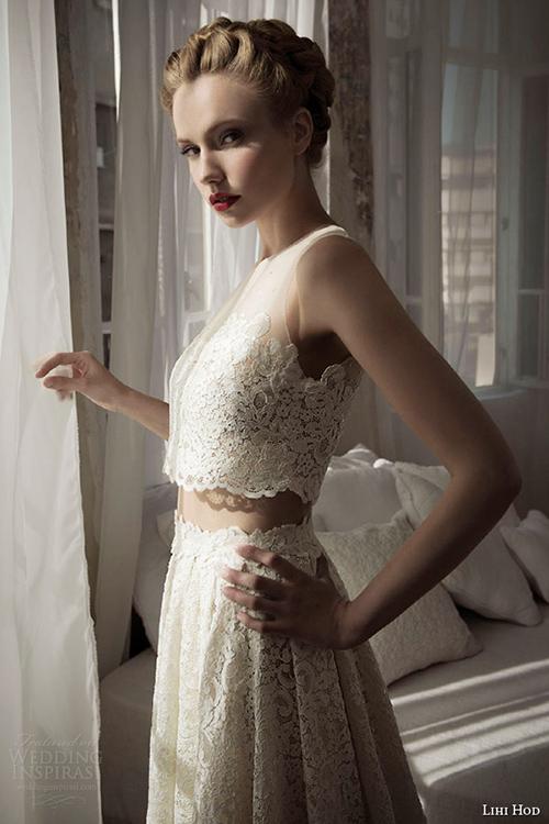 Kiểu váy cưới thú vị mọi cô dâu nên thử năm 2015 - 4