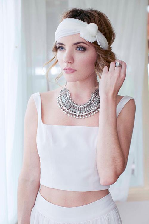 Kiểu váy cưới thú vị mọi cô dâu nên thử năm 2015 - 3