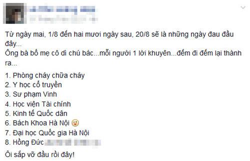ky thi chung: dao tao lop sv khong biet minh thich nghe gi - 1
