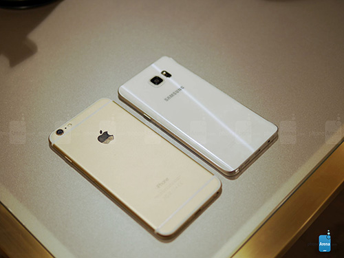 so sanh nhanh galaxy note5, iphone 6 plus - 3