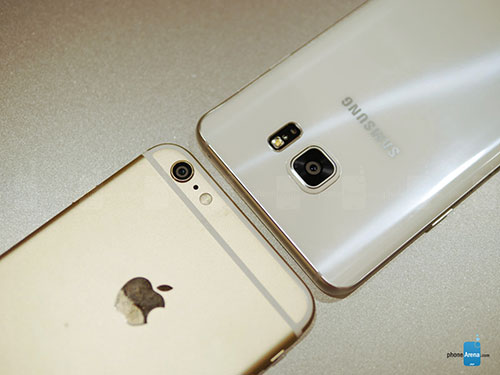 so sanh nhanh galaxy note5, iphone 6 plus - 5