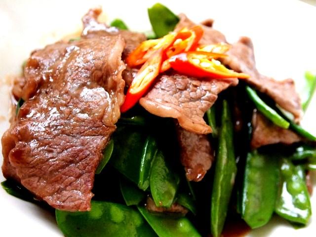 Thịt bò đậu Hà Lan sốt dầu hào bổ dưỡng-7