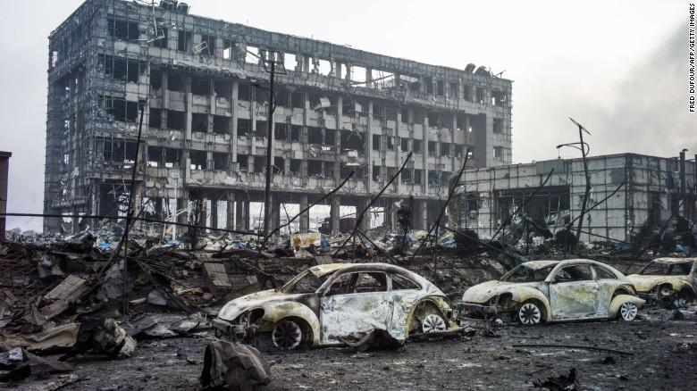 """Vụ nổ ở Thiên Tân """"xóa sổ cả đồn cảnh sát""""-2"""