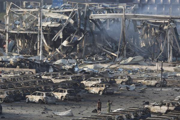 Nổ ở Thiên Tân: Số người chết lên đến 112, còn 95 người mất tích-3
