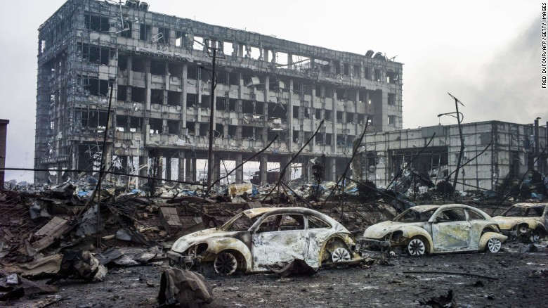 Nổ ở Thiên Tân: Số người chết lên đến 112, còn 95 người mất tích-2