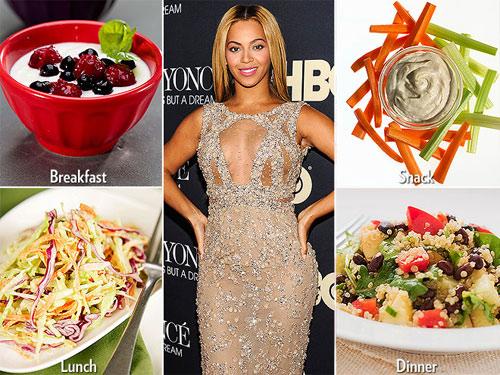 Những chế độ ăn kiêng giúp Sao giảm cân chóng mặt - 1
