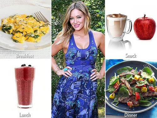 Những chế độ ăn kiêng giúp Sao giảm cân chóng mặt - 6