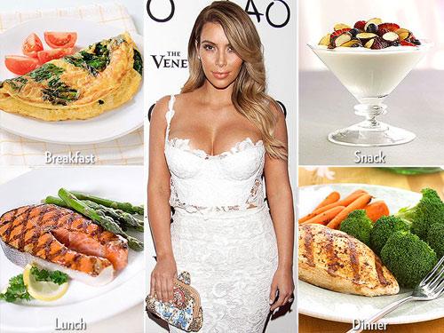 Những chế độ ăn kiêng giúp Sao giảm cân chóng mặt - 2