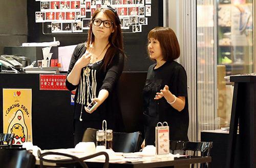 Hoa hậu béo của TVB bán cafe kiếm sống-1