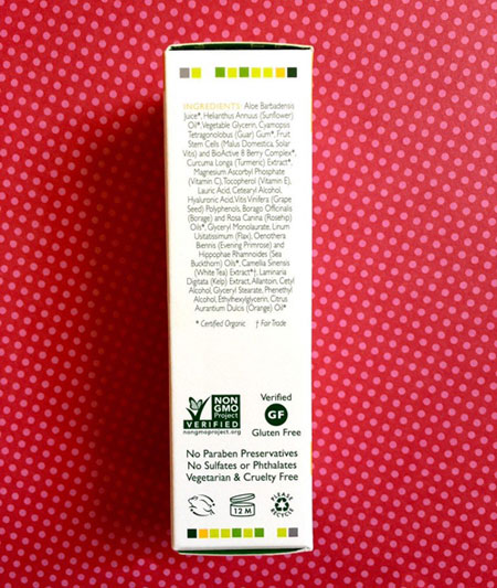 Đánh giá serum làm sáng da Andalou Naturals Turmeric+C Enlighten-4