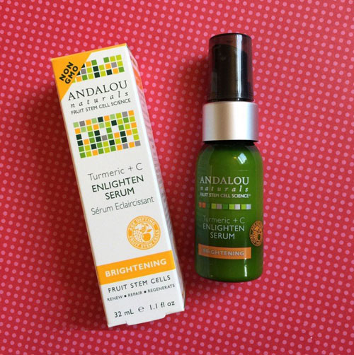 Đánh giá serum làm sáng da Andalou Naturals Turmeric+C Enlighten-6
