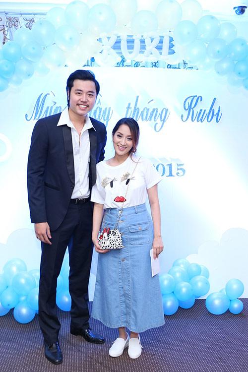 khanh thi - phan hien to chuc tiec day thang cho con - 13