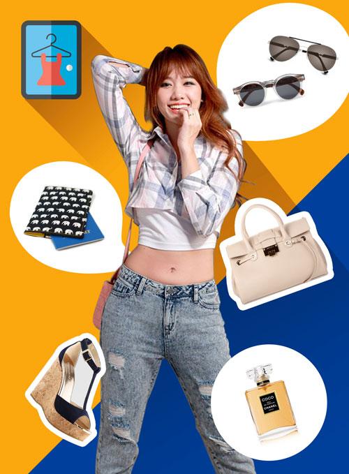 Lục túi của hot girl Hàn nổi tiếng nhất ở Việt Nam-1