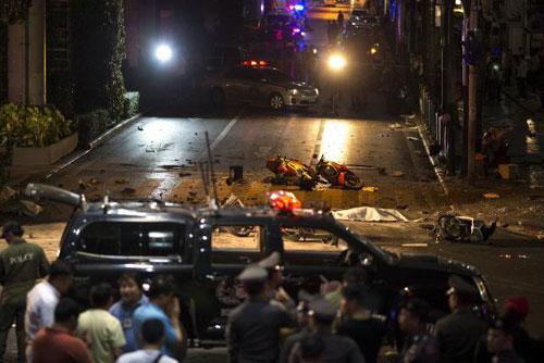 Trung tâm Bangkok tan tác sau vụ nổ bom đẫm máu-5