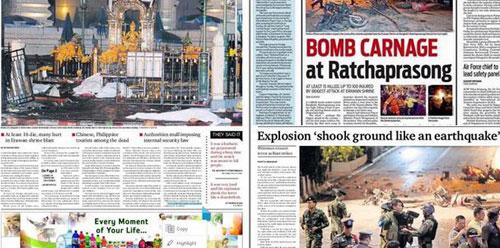 Trung tâm Bangkok tan tác sau vụ nổ bom đẫm máu-15