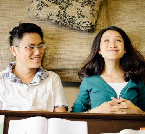 Ảnh cưới đáng yêu của nàng Việt, chàng Đài-8
