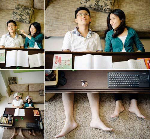 Ảnh cưới đáng yêu của nàng Việt, chàng Đài-9