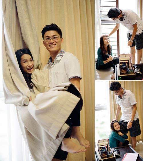 Ảnh cưới đáng yêu của nàng Việt, chàng Đài-12
