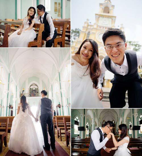 Ảnh cưới đáng yêu của nàng Việt, chàng Đài-14
