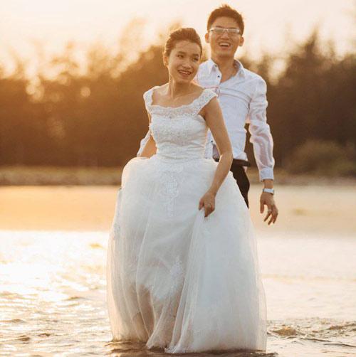Ảnh cưới đáng yêu của nàng Việt, chàng Đài-4