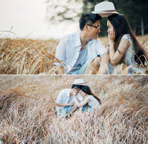Ảnh cưới đáng yêu của nàng Việt, chàng Đài-5