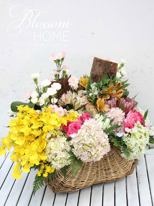 """blossom in home"" - cam hoa nghe thuat theo cach don gian nhat - 5"