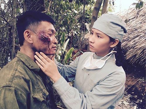 Lã Thanh Huyền ngất trên tay Quốc Thái sau cảnh hôn-3