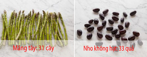 20 loai thuc pham va lieu luong de ban chi nap 100 calories - 1