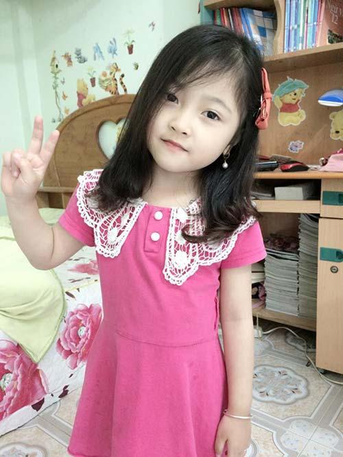 "be gai 5 tuoi duoc khen ""xinh hon"" hh ky duyen - 9"